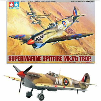 TAMIYA 61035 Spitfire Mk.Vb Trop. 1:48 Aircraft Model Kit