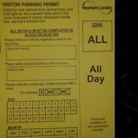 Cheap Newham parking permits