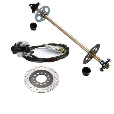 Go Kart Rear Axle Kit Brake Master Cylinder Disc Rotor Hub Drift Trike Cart](Gokart Kits)