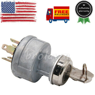 282775a1 Key Ignition Switch Fits Case Skid Steer 760 921 1150g 1845c 5230 85xt