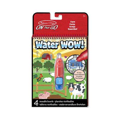 Malbuch mit Wasser