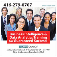 Business Intelligence & Data Analytics 6-DAY Course in Toronto