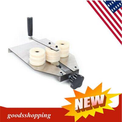 6-16mm Hollow Aluminum Strip Bender Manual Aluminum Bar Bending Machine