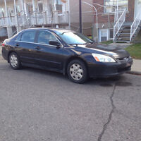 2003 Honda Accord LX 2.4L. 4cyl.  Automatique 2000$ FERME