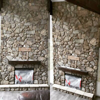 All types of masonry installation and restoration.