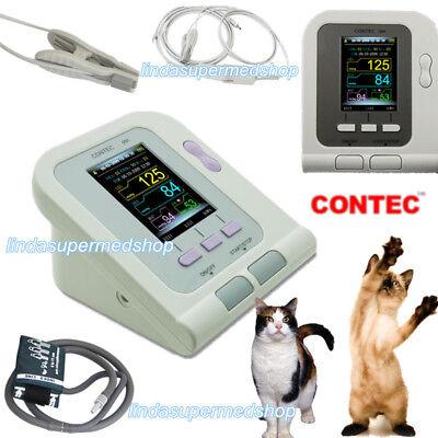 Digital Blood Pressure Monitorveterinaryanimal Nibptongue Clip Probe Contec