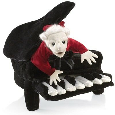 MOZART in a PIANO # 2860 ~ FREE SHIPPING in USA ~ Folkmanis Puppets