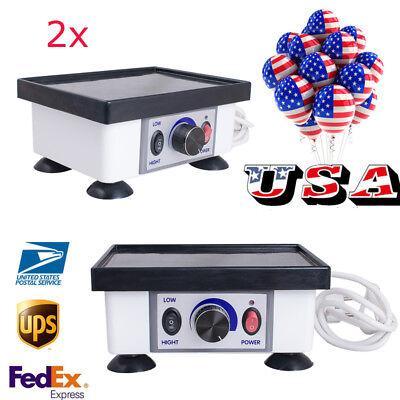 2x Usa 2-5day Dental Mini Square Vibrator Vibrating Oscillator Lab Equipment Fda