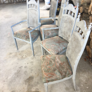 furniture free set of chairs, dresser with mirror