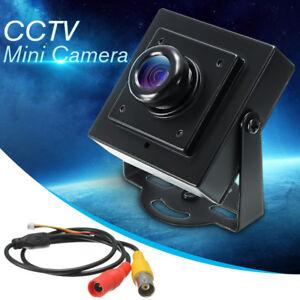 700TVL PAL Mini CCTV FPV Board Camera 1/3'' CMOS High Resolution Video & Cable