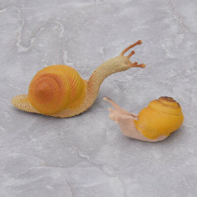 Mini Artificial Miniature Snail Figurine Decor Fairy Garden Dollhouse Ornament