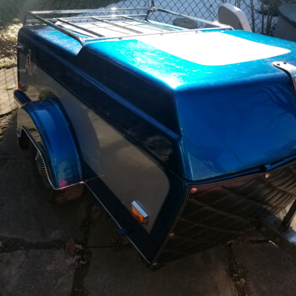 1993 TINY MITE MOTORCYCLE CAMPER TRAILER