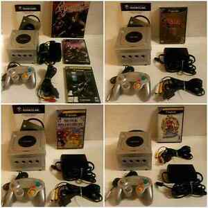 AWESOME GAMECUBE PACKAGES / SUPER ENSEMBLES GAMECUBE