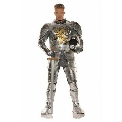Underwraps Knight in Shining Armor Medieval Adult Mens Halloween Costume - Knight Shining Armor Kostüm