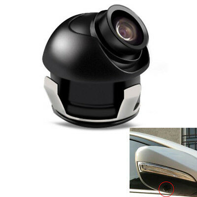 360°Rotatable CCD Car Camera Front/Side View of The Blind Area Shaped Waterproof