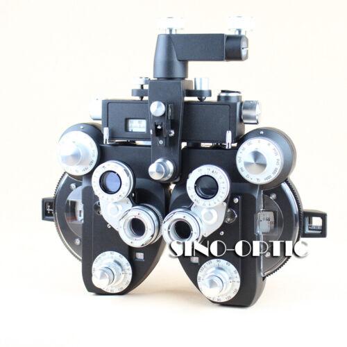 manual phoropter ophthalmic refractor optical vision tester minus cylinder