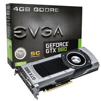EVGA Nvidia GeForce GTX 980 Superclocked 4GB GDDR5