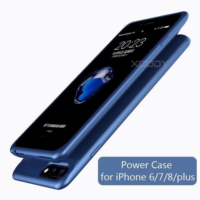 Ultra Slim External Backup Battery Power Bank Case For iPhon