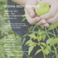 Regina Seedy Saturday - A Mid-Winter Garden and Seed Event