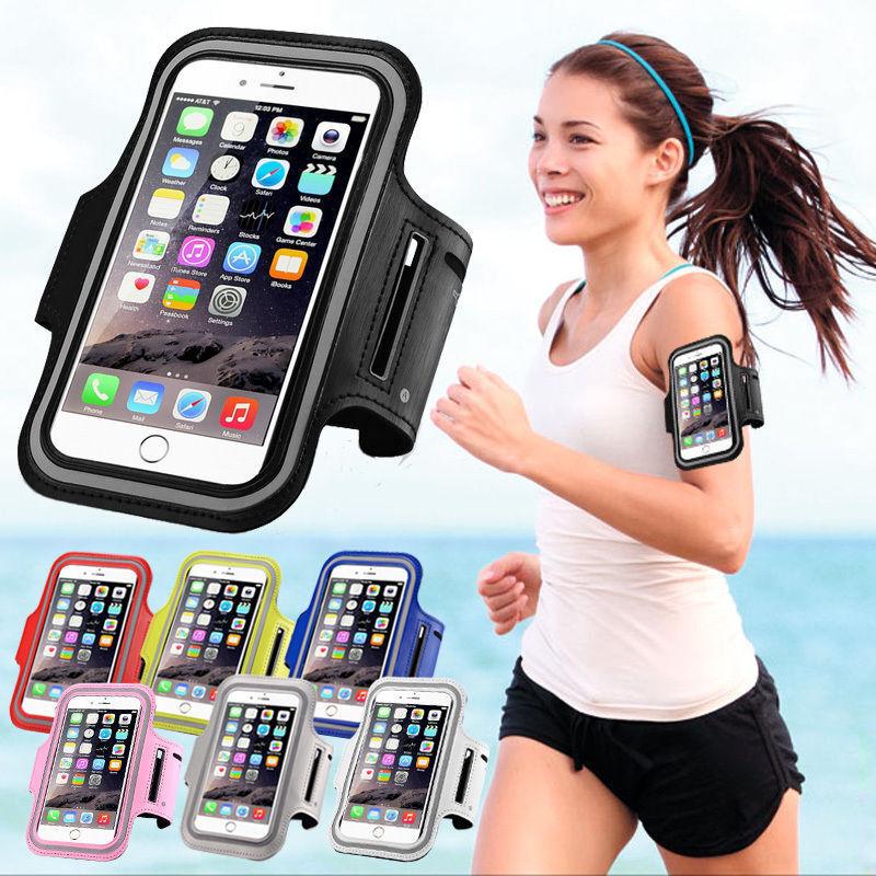 Sport Armband für iPhone 6/6S Handy Tasche Schutz Hülle Fitness Armtasche