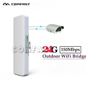 Outdoor Wireless Access Point High Power AP WiFi Bridge Router CPE USA Stock
