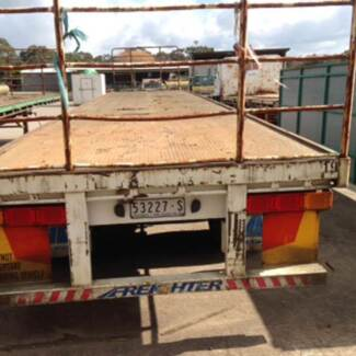 2003 Freighter Model: ST3-OD 46' Tri-axle Flat Top Trailer Timboon Corangamite Area Preview