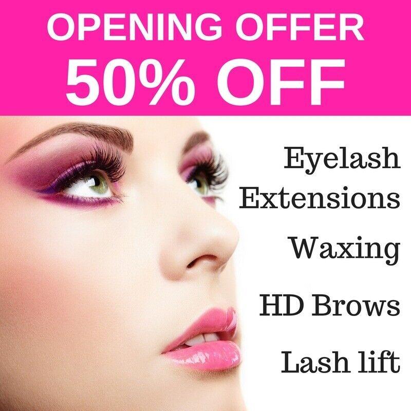 50 Off First Visit Eyelash Extensions Waxing Lash Lift