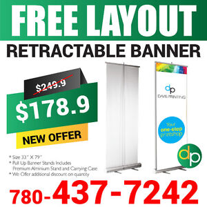 Amazing Sale, Printing Services, Flyers, Signs, Banners, Decals. Edmonton Edmonton Area image 6