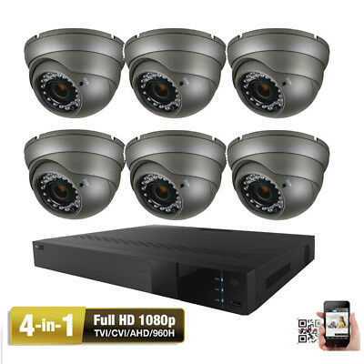 8CH 5MP All-in-1 TVI DVR CMOS CCD 4-in-1 AHD 2.6MP OSD Security Camera System 3 ()