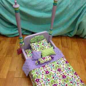 Our Generation/American Girl Wooden Doll Beds