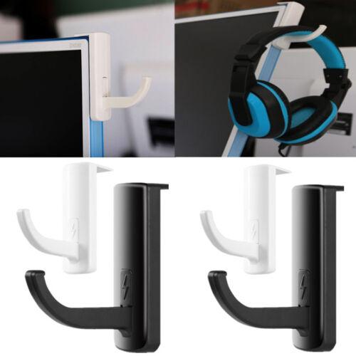 Headphones Holder Earphone Headset Wall PC Monitor Display Hanger Stand Rack SD