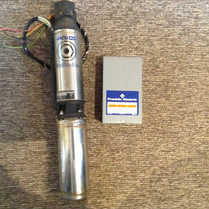 Submersible pump and control