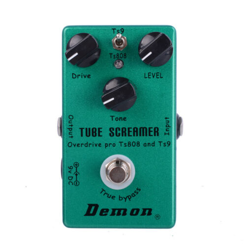 Demon Tube Screamer OverDrive  ts9 and 808  guitar effect pedal Special offer