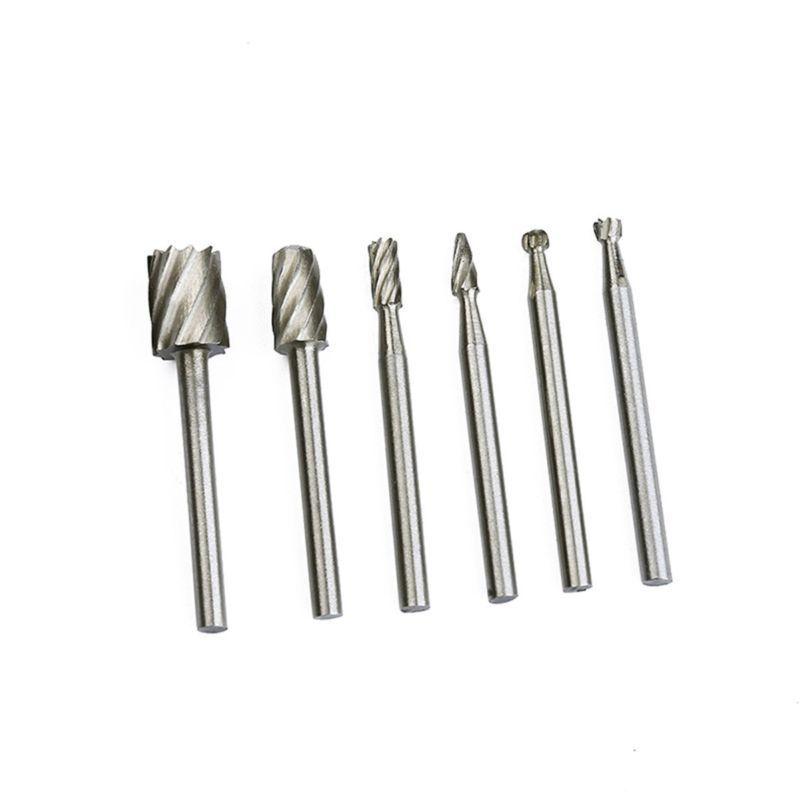 20x Diamond Grinding Carving Cutting Burr Bit For Dremel Rotary Tool Glass Stone