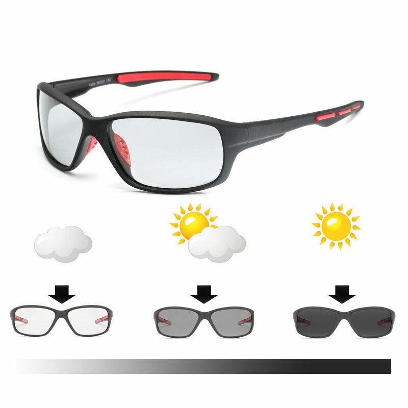 New Sunglasses Polarized Photochromic  Men Driving Chameleon Glasses Male Clothing, Shoes & Accessories