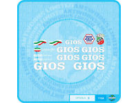Sticker Gios Torino Compact Plus Tubing Bicycle Decal Transfer Set 11