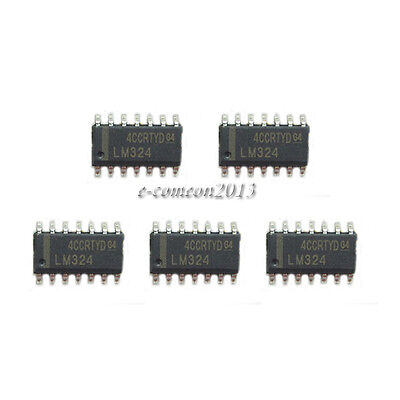 New 20pcs Smd Lm324 Op Amp Quad Sop-14 Ic