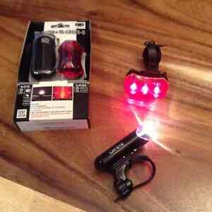 Cat Eye Bike Headlight and Taillight Set (Two Units)