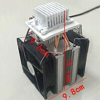 1pc 12v Cooler Device Semiconductor Air Refrigeration Thermoelectric Peltier Us