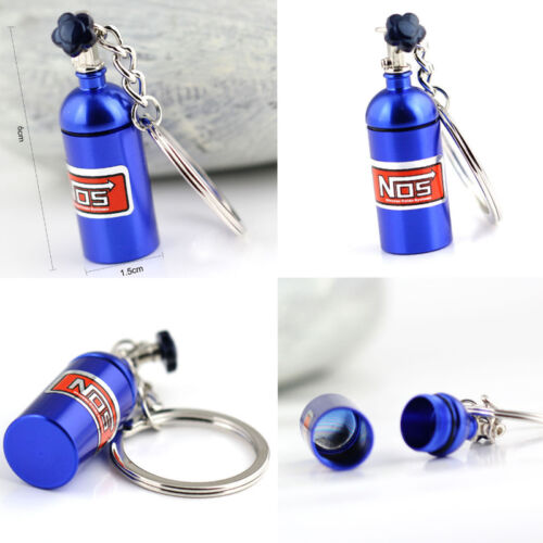 Auto NOS Bottle  Keychain Key Chain Ring Keyring Keyfob Car Fans Favorite Gifts