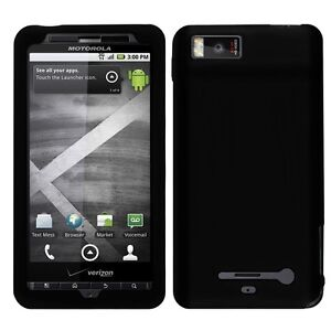 Silicone Soft Skin Cover Case for Motorola Droid X MB810 / Droid X2 MB870