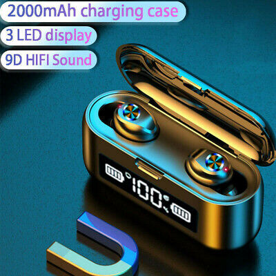 TWS Wireless Bluetooth Earbuds Headphones Stereo Earphones For iPhone Samsung UK
