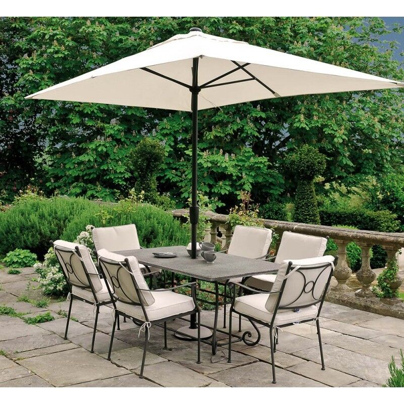 Neptune garden furniture table six chairs cushions and for Outdoor furniture gumtree