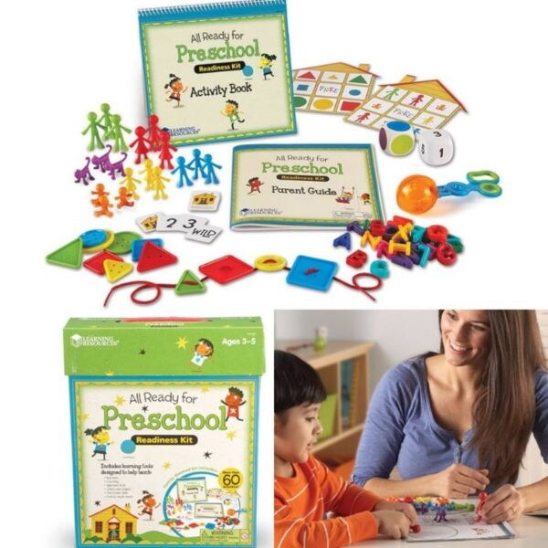 BNIB: Learning Resources All Ready For Preschool Readiness Kit