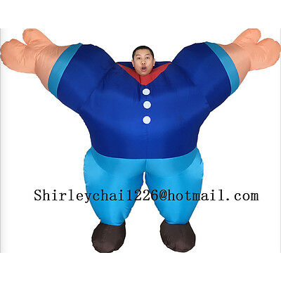 New Cheap Adults Hercules Inflatable Costume mascot Halloween Party game Cosplay