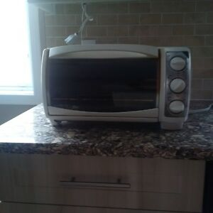Black and Decker Toaster Oven (White)