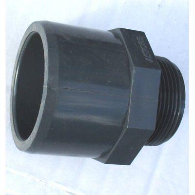 Pool Installation Übergang Nippel Gewindestück PVC 40x50x1 1/2