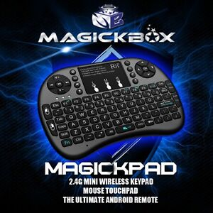MAGICKPAD MINI WIRELESS KEYPAD WITH MOUSE FOR ANDROID TV !!