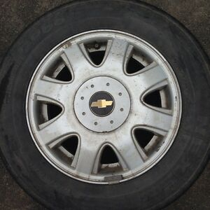 Tires and Wheels for Cghevy Aveo