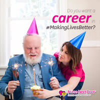 Caregivers, PSWs & Nurses with Heart Wanted!!
